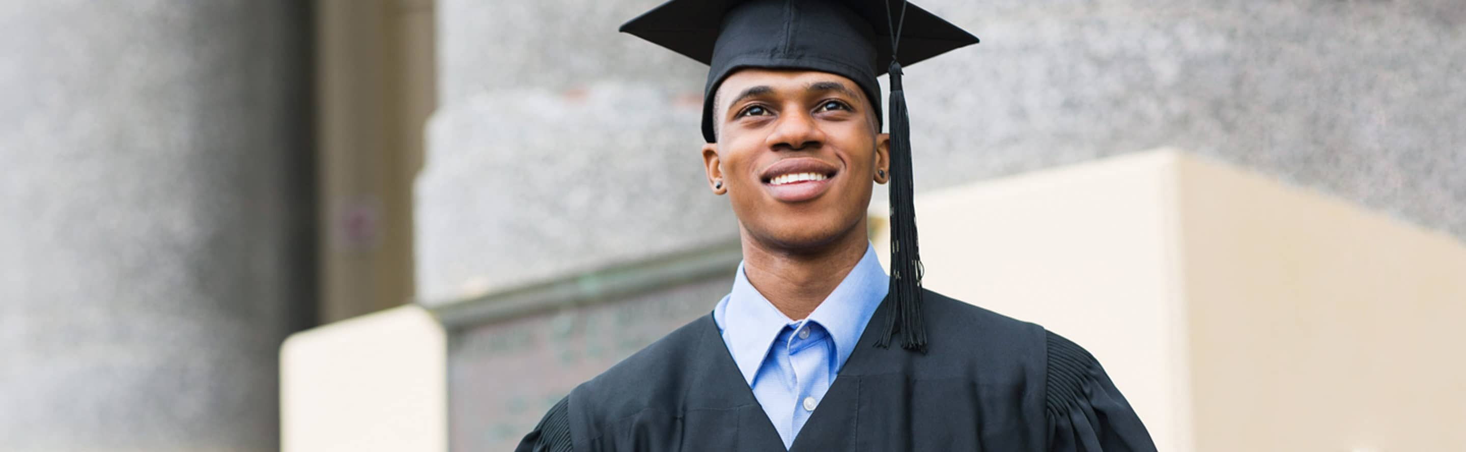 Finish College Young Man