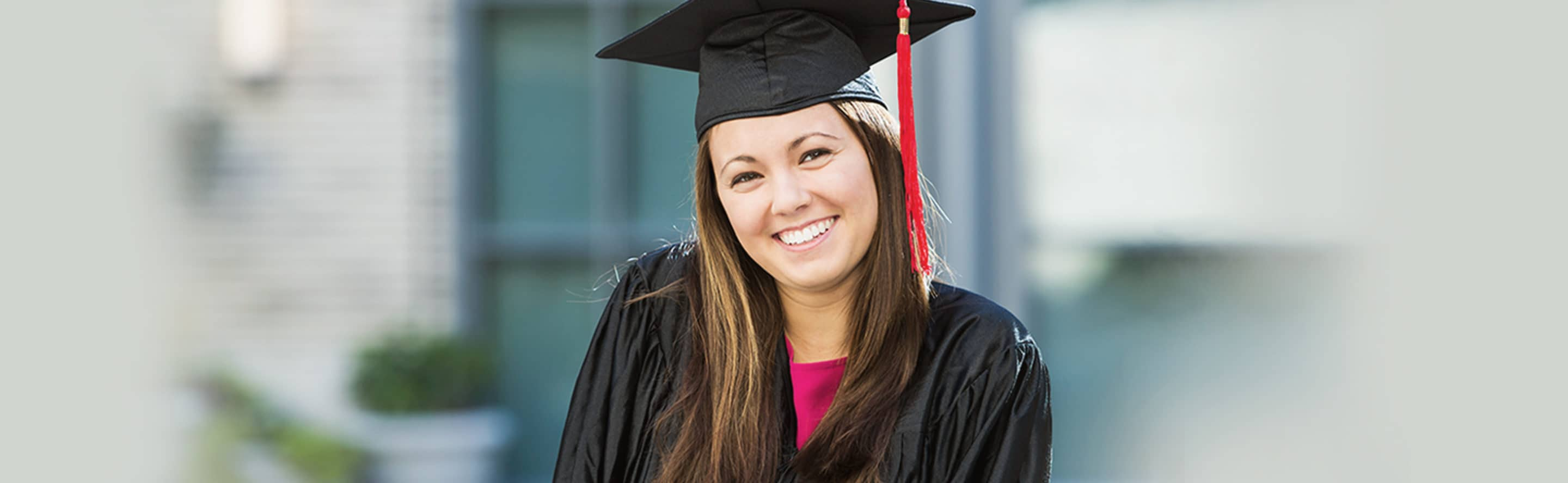 Finish College Young Woman