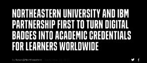 Northeastern University Credentials